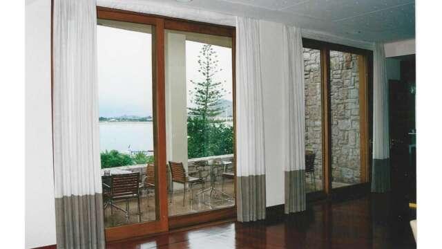 Sliding balcony doors of IROCO