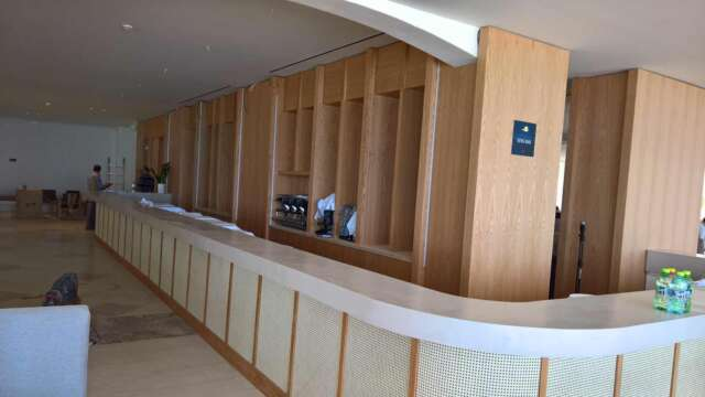 Completion of bar installation