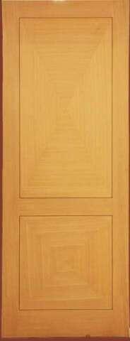 Εσωτερική πόρτα σχήματος ρόμβου με φυσικό καπλαμά ΔΡΥΣ ΙΣΟΒΕΝΟ