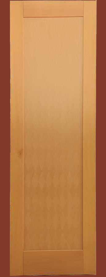 Εσωτερική πόρτα μασίφ ξύλου ΟΞΥΑ & ταμπλάδες από καπλαμά ALPI