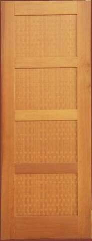 Εσωτερική πόρτα μασίφ ABOURA και καπλαμά ALPΙ