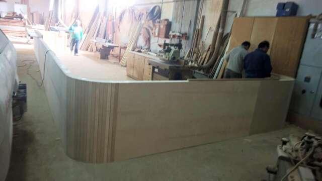 Αρχικό στάδιο κατασκευής μπαρ