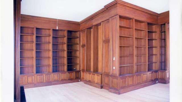 Constructions, spéciales, en espaces intérieures, en bois NIAGON
