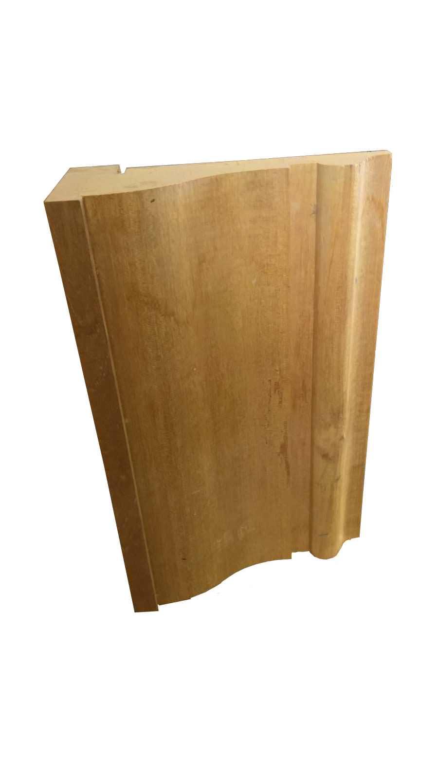 Εξωτερική κορνίζα πλαισίων πορτών πλάτους 32εκ. μασίφ ξύλο